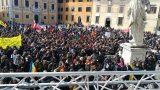 manifestazione contro le mafie a Pisa