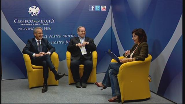 I Presidenti di FNAARC Livorno e Pisa durante la tx