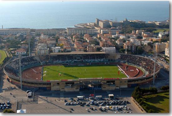 stadio Armando Picchi dove si disputerà derby Livorno - Pisa