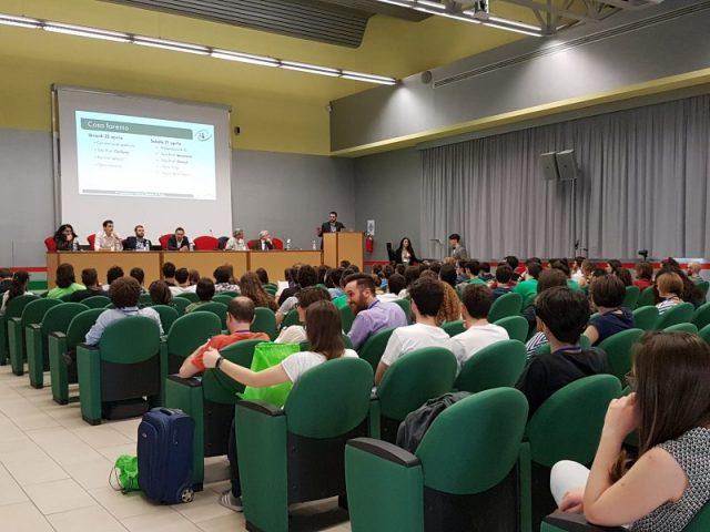 Studenti alla Conferenza Italiana Studenti di Fisica