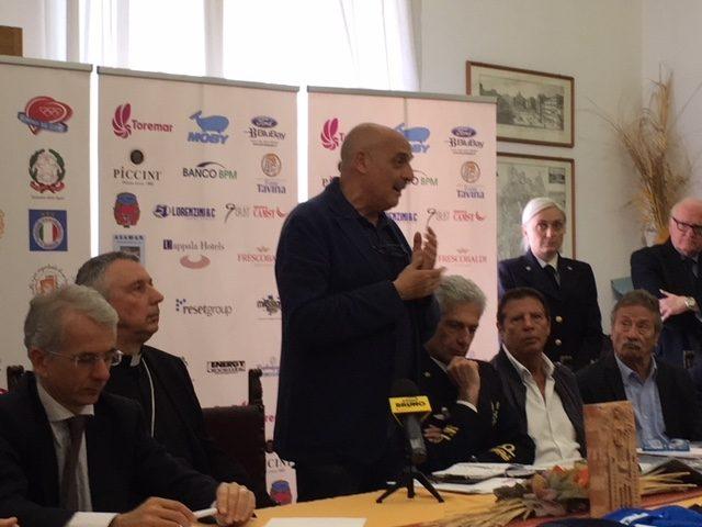 Conferenza stampa in Vescovado Livorno, 23 aprile 2018