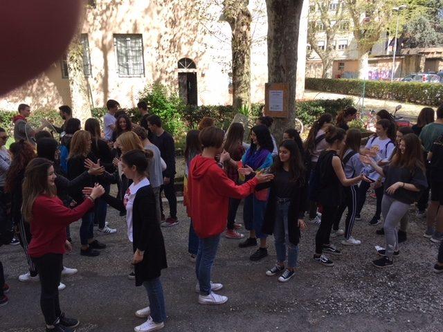 studenti del Liceo Cecioni di Livorno
