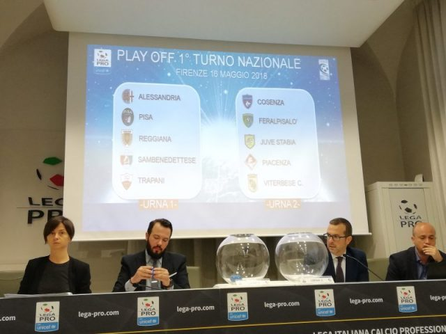 sorteggio 1° turno play off