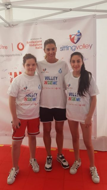 SITTINGvolley pisa Piccinini