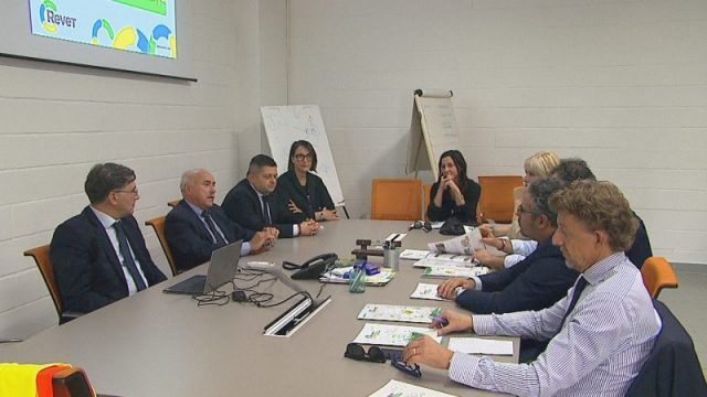 la commissione regionale alla Revet di Pontedera