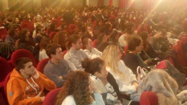 studenti al Cinema 4 Mori