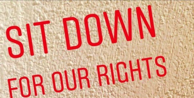 il manifesto dell'iniziativa organizzata dagli studenti