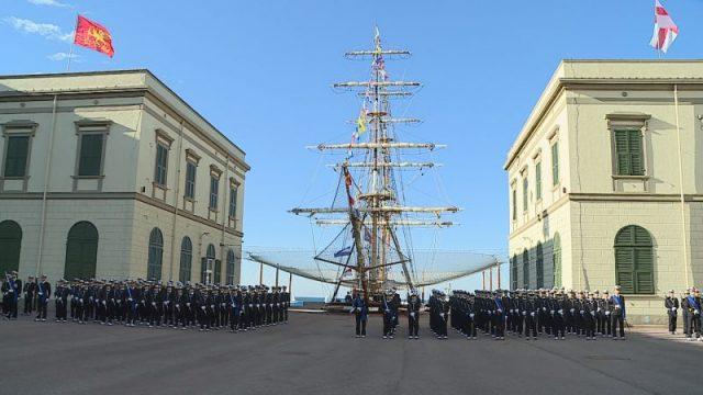 Accademia Navale, piazzale del Brigantino