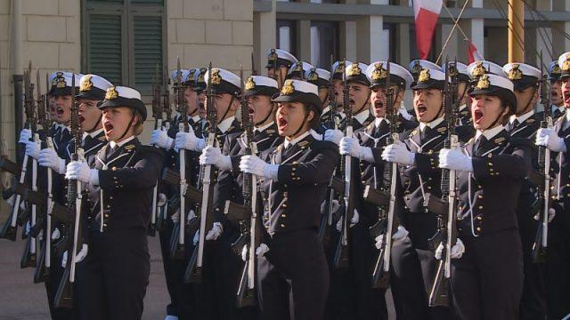 giuramento all'Accademia Navale di Livorno
