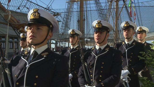 Accademia Navale, il giuramento