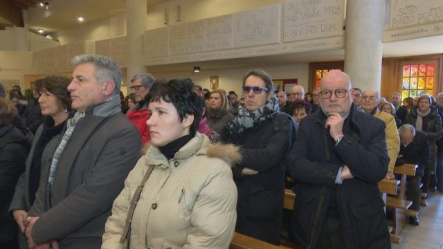 Funerali di Paola Nappi