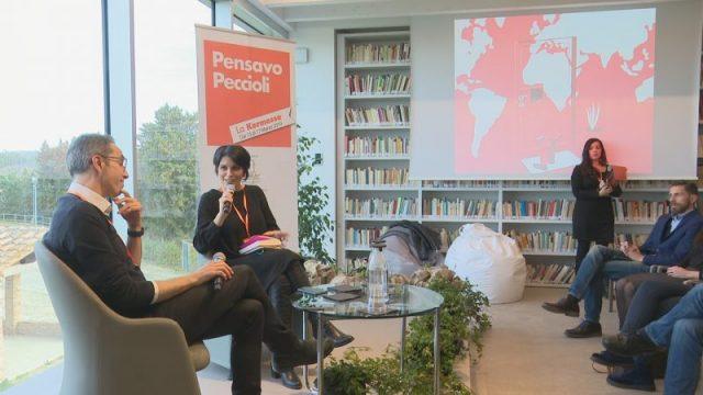 A Peccioli l'incontro di Marianna Aprile con Filippo Solibello (Rai)