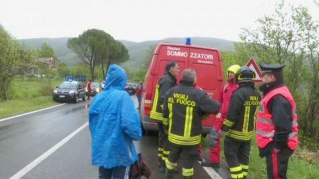auto travolta da piena a Castelnuovo Val di Cecina