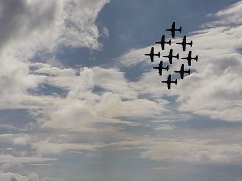 Air Show '19, danze nel cielo