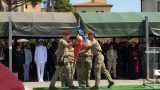Cerimonia militare a Livorno