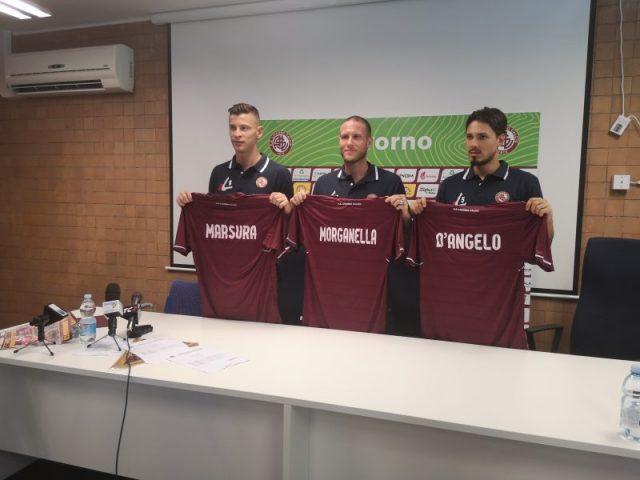 Presentati nuovi acquisti Livorno Calcio