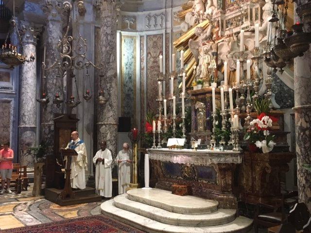 Padre Fabrizio Civili festeggia 50 anni di sacerdozio