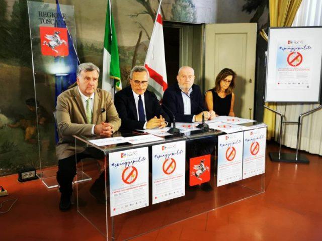 Conferenza stampa Toscana plastic free