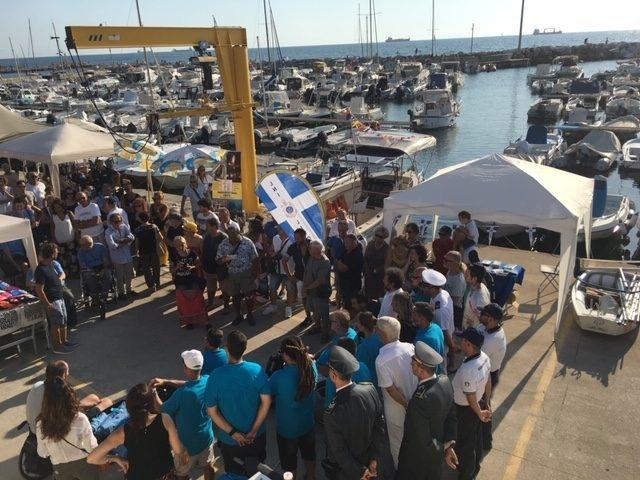 Varata la barca 'Secondo Pensiero' er i disabili motori a Livorno