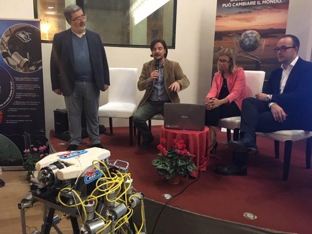Robot granchio a Livorno