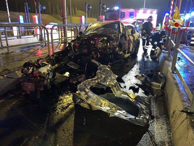 incidente mortale al casello di Rosignano