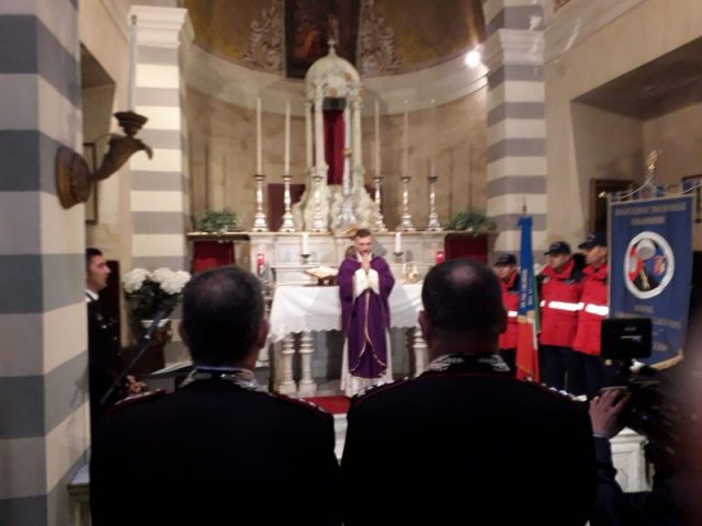 Nassiriya 16° anniversario, funzione religiosa