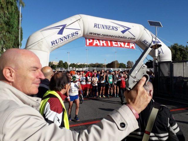 Il sindaco da il via Half Marathon
