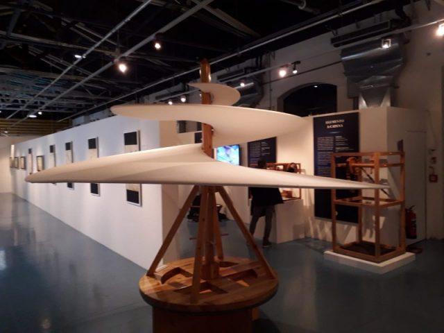 Leonardo in mostra a Pontedera