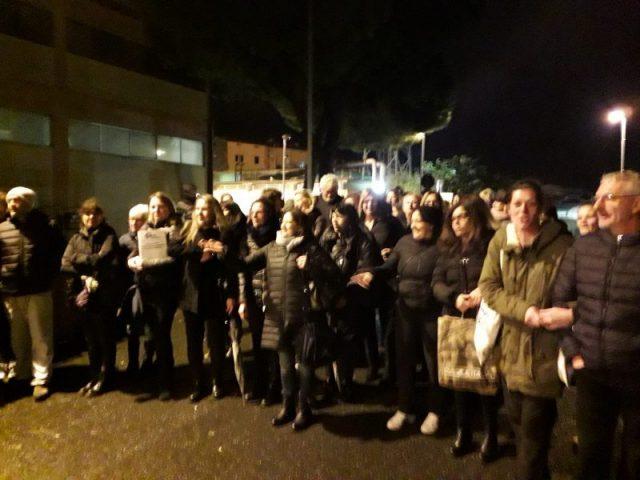 Protesta in Ospedale