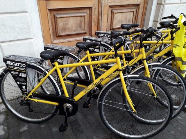 City Bike per mi riscatto per Livorno