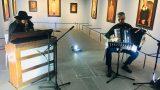 capossela canta a Livorno Modì