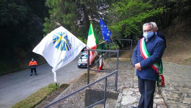 """Sindaco Di Maio alla celebrazione a """"La Romagna"""""""