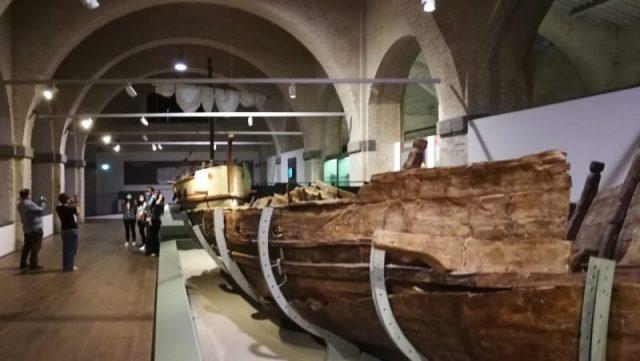 riapre museo antiche navi di Pisa