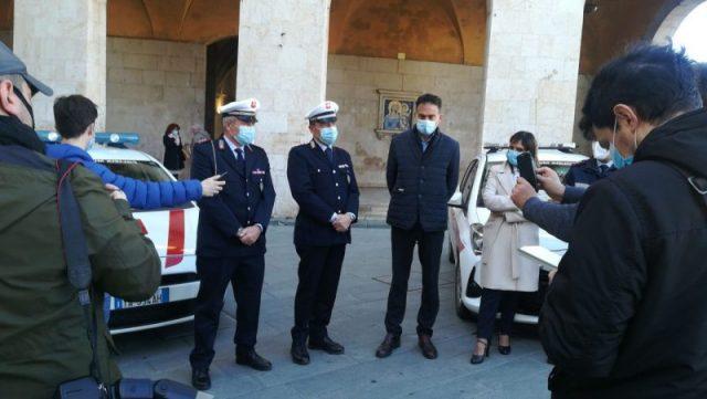 presentato comandante Municipale di Pisa