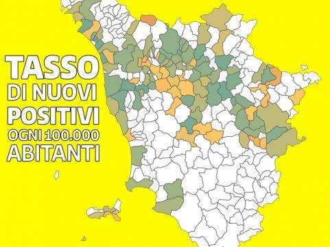 Covid a +436, Giani sprona a tenere a cuore la Toscana