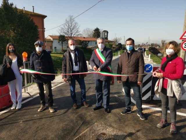 Riaperta via Di Palazzetto San Giuliano