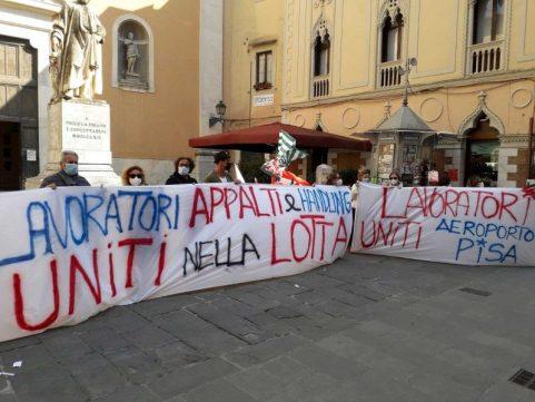 Handling Toscana Aeroporti, nuova protesta