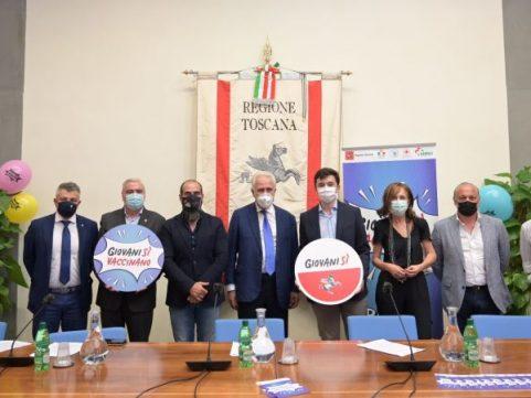 Vaccini, la Regione Toscana tra i giovani nel weekend